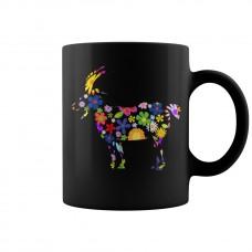 Flower Goat Mug