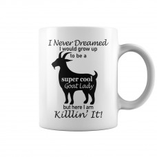 Super Cool Goat Lady Mug