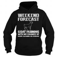 Goat Farming Wekend Forecast Hoodie
